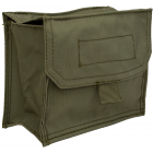 Italian Military Nylon Belt Pouch, 2 Pack