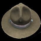U.S. G.I. Drill Sergeant's Hat, Used