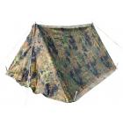 German Military Pup Tent, Flecktarn Camo, Complete