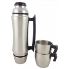 Stainless Steel Vacuum Thermos Bottle, Double Walled