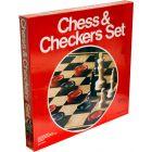 U.S. G.I. Chess and Checkers Set