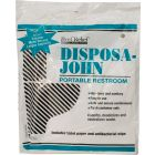 U.S. G.I. Disposa-John Portable Restroom Sanitary Toilet Bags, 10 Pack
