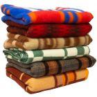 Vintage Polish Military Wool Blanket
