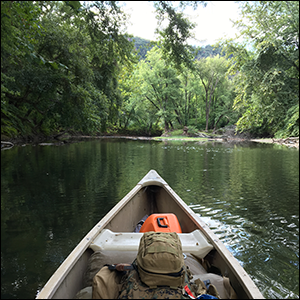 Canoe Camping with Military Surplus
