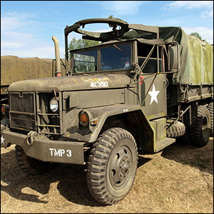 Deuce and a Half M35 Military Truck