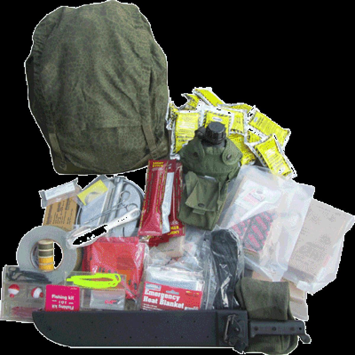 Military Surplus Survival Kit/Bug Out Bag