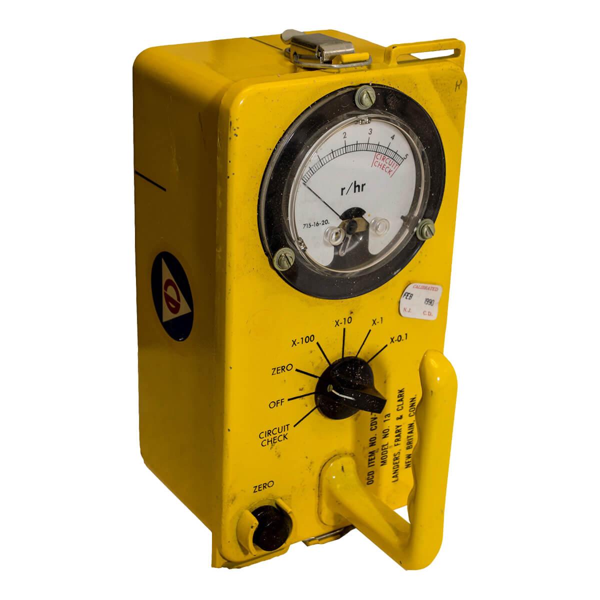 GAMMA RADIATION DETECTOR, (Geiger Counter) CDV-715, Non-Functional