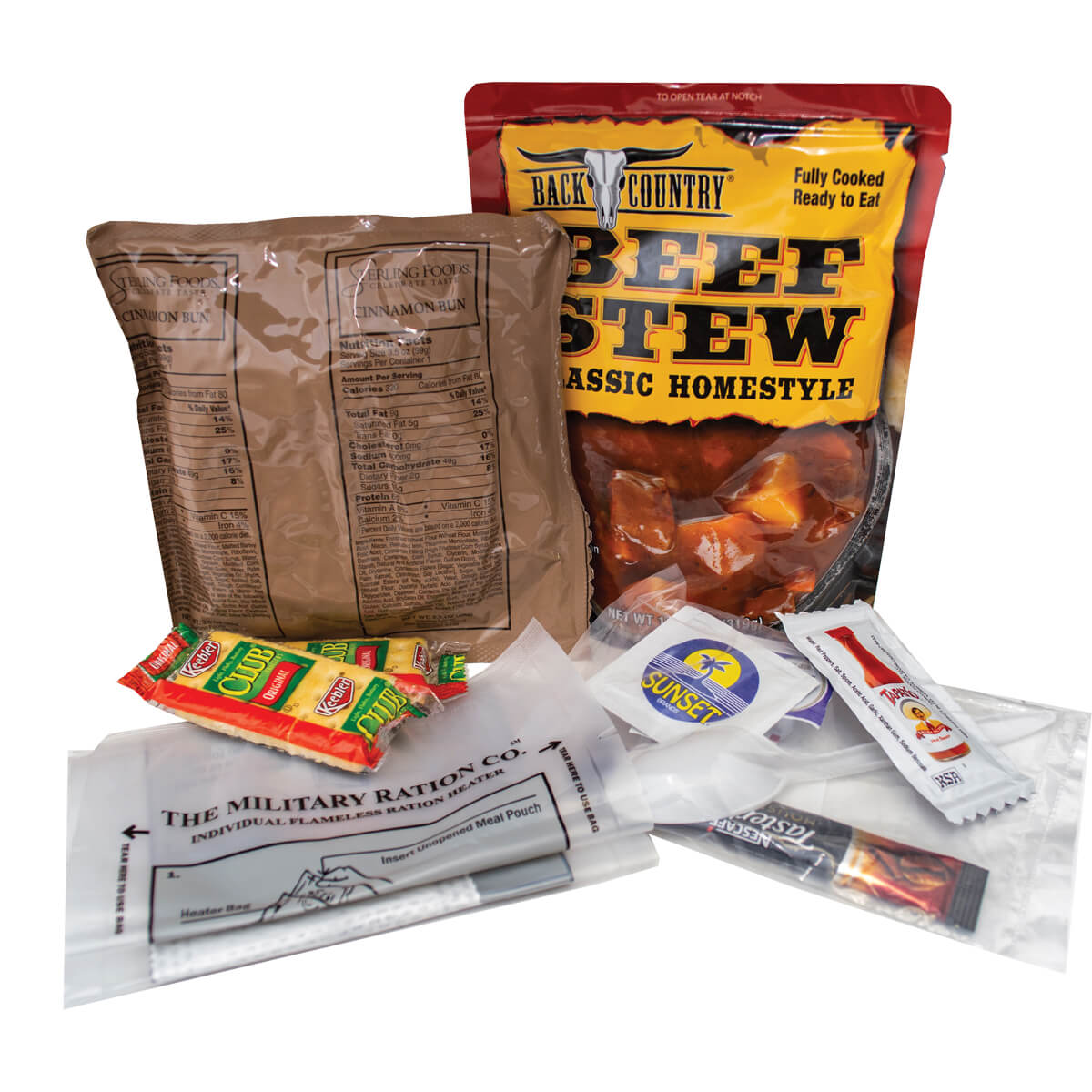 MREs (Meals Ready to Eat), Case of 12