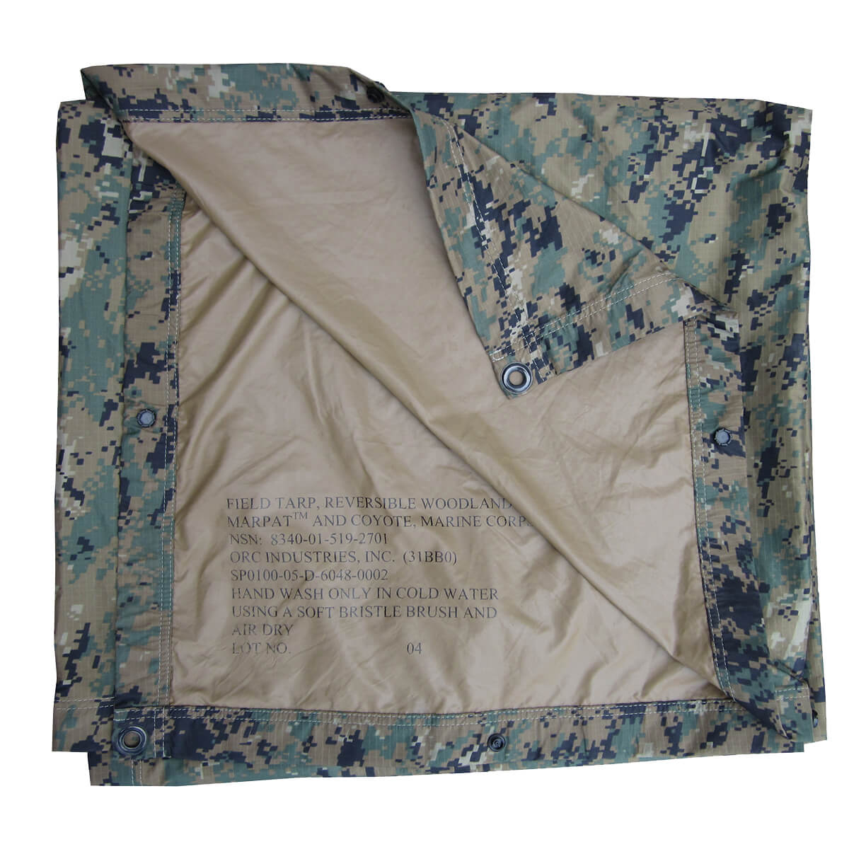 reversible wet weather tarp for tent camping essentials from coleman's military surplus