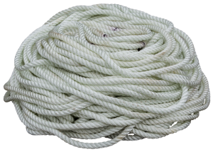 Nylon rope value back 3/8 inch from Coleman's military surplus for tent camping accessories