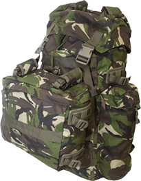 ROMANIAN MILITARY 90L RUCKSACK WITH ASSAULT PACK